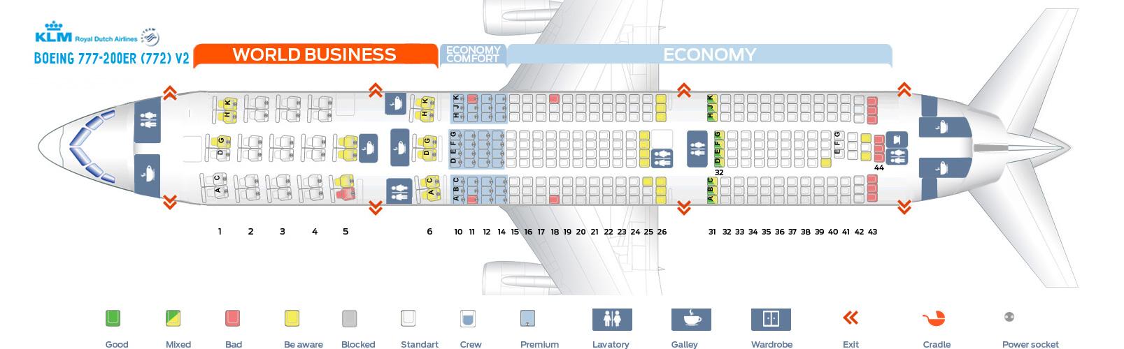 Seating Plan Klm Boeing 777 300er Brokeasshome Com